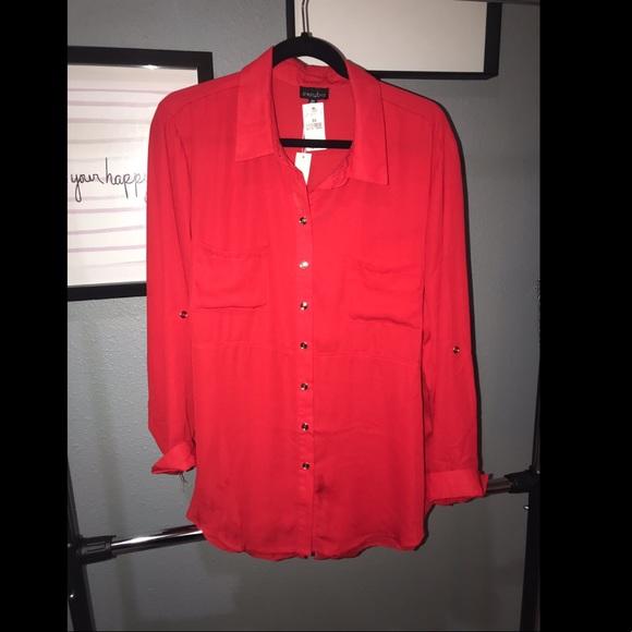 a2daa0b3424af Plus size versatile blouse. NWT. Zenobia